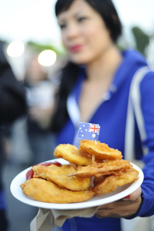 Aussie battered chip