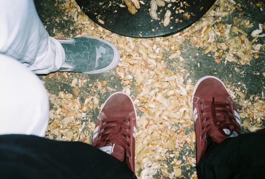 Shell toes x J.Dragonette